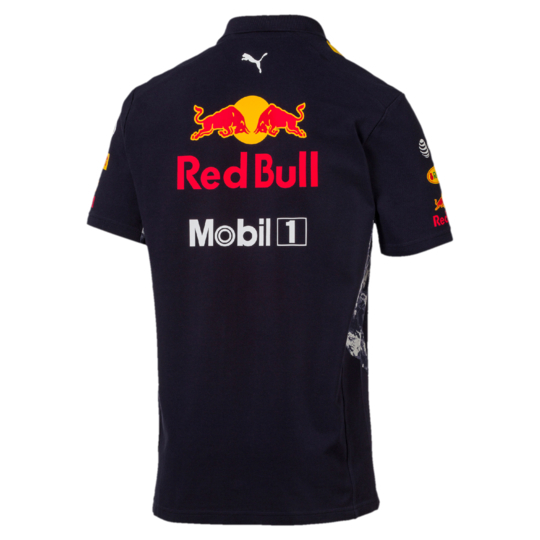 polo red bull racing de la collection officielle red bull puma. Black Bedroom Furniture Sets. Home Design Ideas