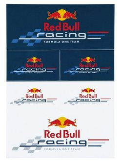 autocollants red bull racing. Black Bedroom Furniture Sets. Home Design Ideas