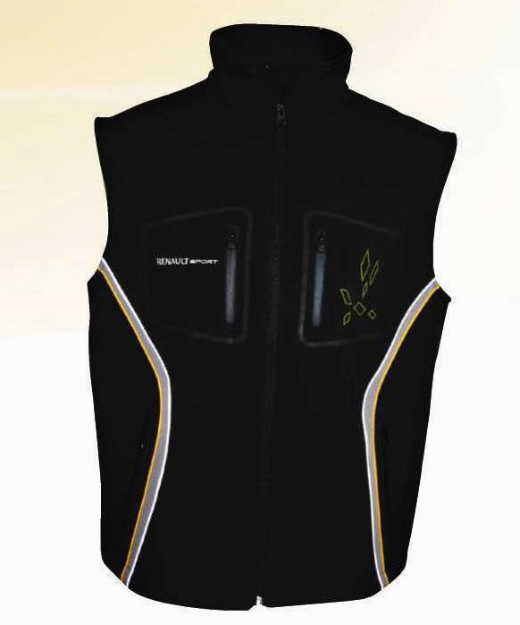bodywarmer renault sport. Black Bedroom Furniture Sets. Home Design Ideas