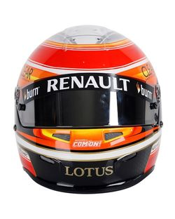 Casque LOTUS RENAULT Romain GROSJEAN