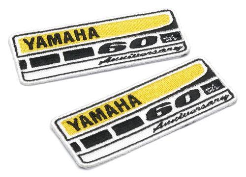 ecusson yamaha tissu coudre collection 60e anniversaire