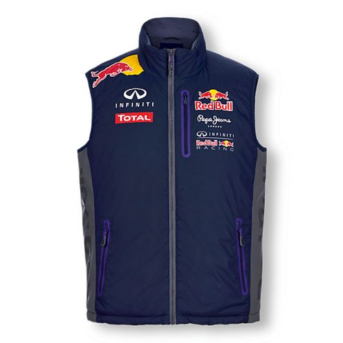 gilet sans manches infiniti red bull collection officielle red bull. Black Bedroom Furniture Sets. Home Design Ideas