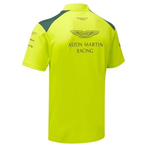 maillot aston martin team green collection officielle aston martin. Black Bedroom Furniture Sets. Home Design Ideas