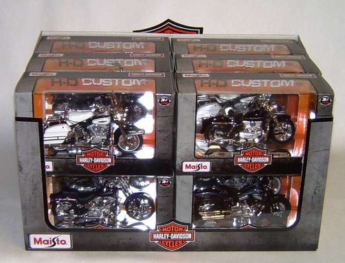 miniature harley davidson mod le r duit de collection. Black Bedroom Furniture Sets. Home Design Ideas