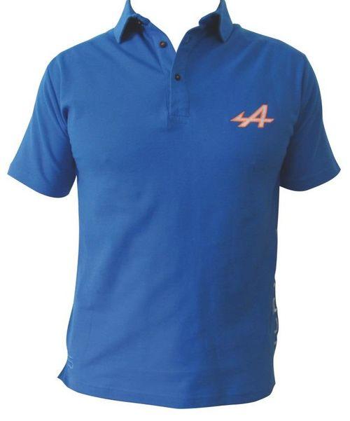 polo alpine racing pour homme de la collection officielle alpine. Black Bedroom Furniture Sets. Home Design Ideas
