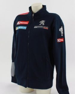 sweat peugeot sport replica de la collection officielle peugeot sport