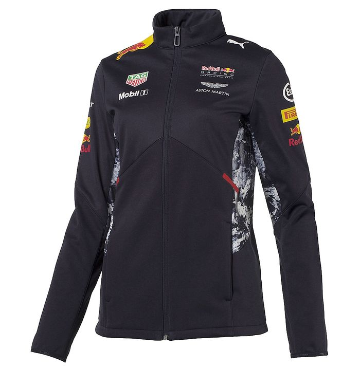 blouson softshell red bull femme collection officielle red. Black Bedroom Furniture Sets. Home Design Ideas