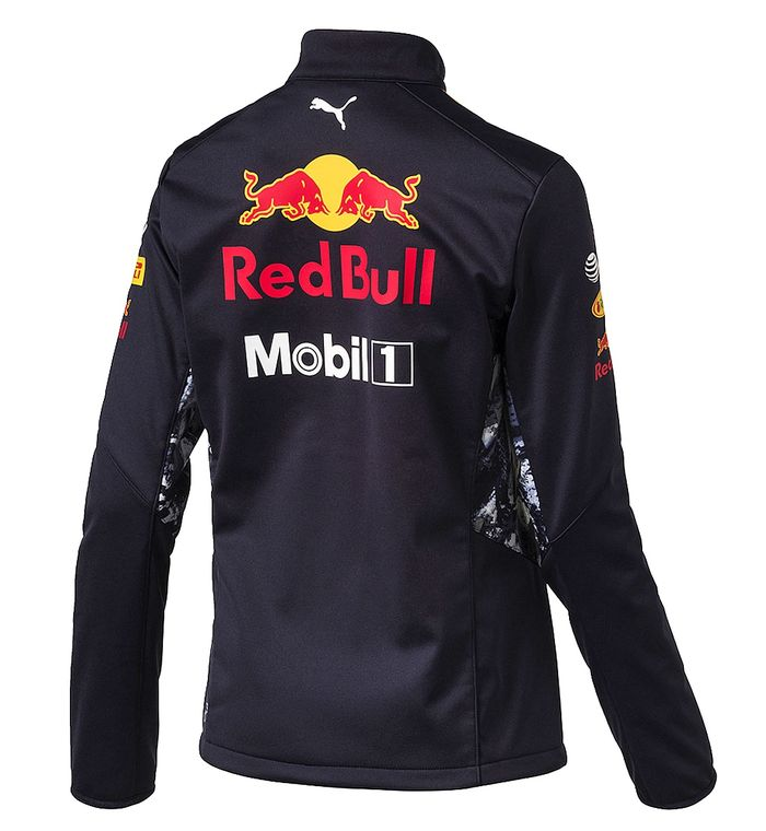 blouson softshell red bull femme collection officielle red bull puma. Black Bedroom Furniture Sets. Home Design Ideas