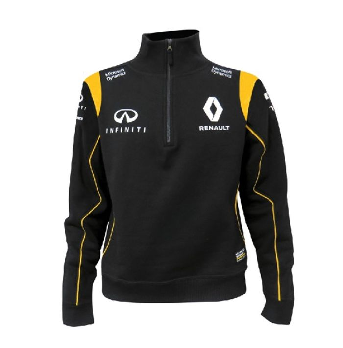 sweat renault f1 replica de la collection officielle renault f1 team. Black Bedroom Furniture Sets. Home Design Ideas