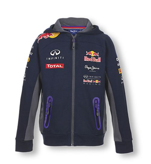 Sweatshirt Enfant Red Bull Collection Officielle Red Bull
