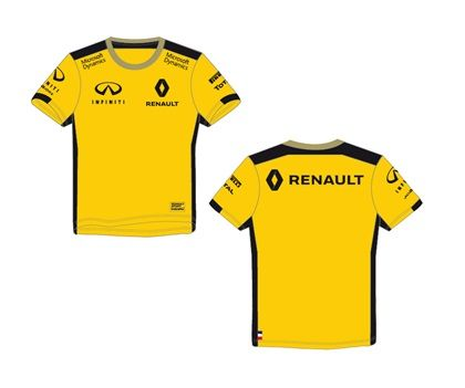 t shirt enfant renault f1 replica de la collection. Black Bedroom Furniture Sets. Home Design Ideas