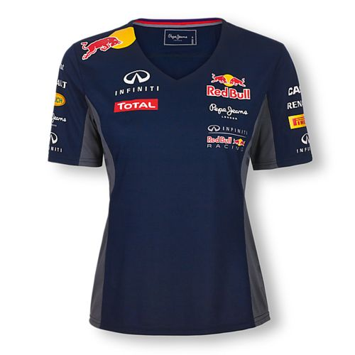 t shirt red bull femme collection officielle red bull racing. Black Bedroom Furniture Sets. Home Design Ideas
