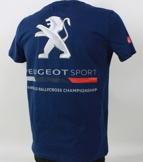 Tee Shirt Peugeot 208 Wrx Collection Officielle Peugeot Sport