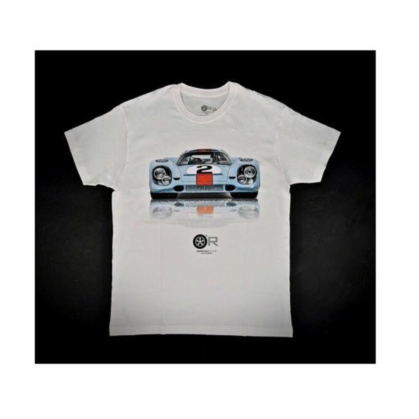 917 Race Homme Pour T Shirt Officiel Collection Porsche By Original Gulf xBorCde