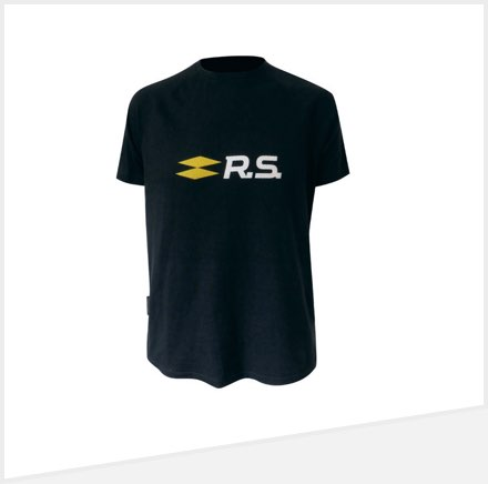 tee shirt renault rs pour homme collection officielle renault sport. Black Bedroom Furniture Sets. Home Design Ideas