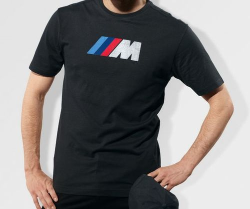 tshirt homme bmw m anthracite en 100 coton collection officielle bmw. Black Bedroom Furniture Sets. Home Design Ideas